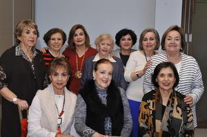 14112016 Arcelia, Martha, Nury, Leticia, Rosy, Licha, Bertha, Rosy, Nelda y Malú.