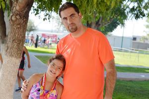 13112016 EN TRIATLóN.  Paulina y Enrique.