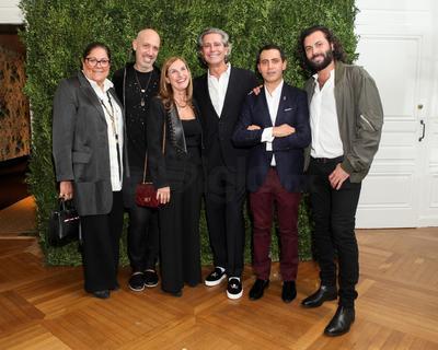 Fern Mallis, Robert Verdi, Mily De Molina, Carlos Souza, Gabriel Rivera-Barraza y Hans Neumann.