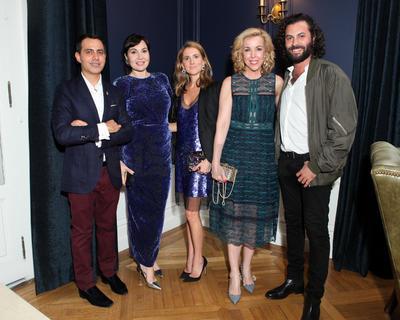 Hans Neumann, Fabiola Beracasa Beckman, Marina Larroude, Eva Hughes  y Gabriel Rivera-Barraza.