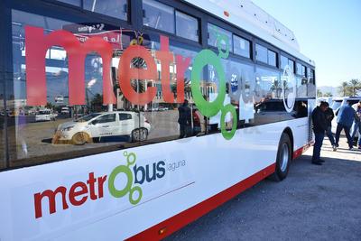 Así serán las unidades sel sistema de transporte Metrobús Laguna.