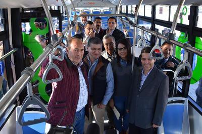 Arrancó en Torreón la construcción del Sistema de Transporte Metrobús con la presencia de autoridades estatales y municipales.