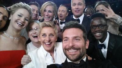 Salió a relucir la selfie de Ellen DeGeneres en los premios Oscar en 2014.