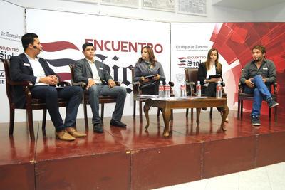 El evento fue transmitido en directo en las redes sociales y el portal en línea de El Siglo de Torreón.