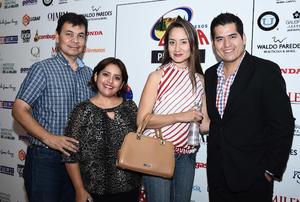 18112016 EN UNA CONFERENCIA.  Jaime Martínez, Graciela Sánchez, Divia Gama y Jorge Castro.