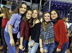 18112016 Mariana, Soraya, Afife, Ana Paula y Ana Isabel.