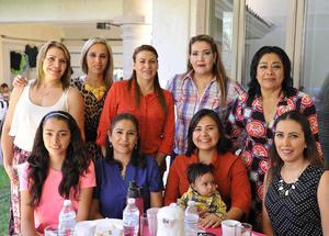 19112016 Emma, Gaby, Vicky, Alejandra, Rosalba, Nadia, Belén, Monserrat, Yadira y Mariano.