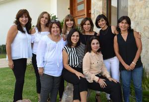 19112016 REUNIóN DE EX ALUMNAS.  Norma, Beatriz, Teraly, Nenabel, Geno, Lucía, Lily, Lulú y Tere.