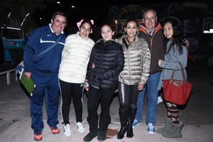 19112016 Miguel, Bárbara, Paulina, Mayra, Javier y Luisa.