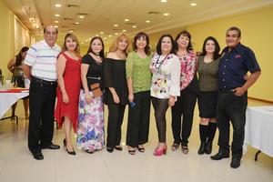 19112016 NOCHE BOHEMIA.  Miembros del Club Rotario Torreón Sur.