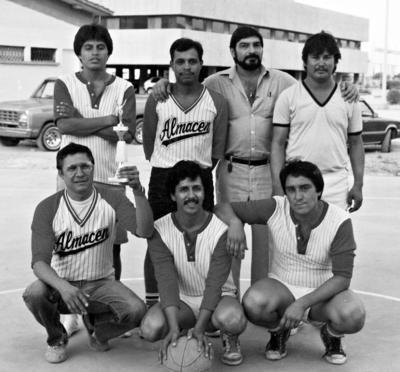 20112016 Sub campeones en torneo de basquetbol enmayo de 1985.
