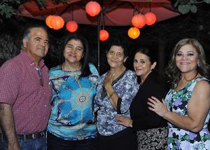 20112016 M.V.Z. Pablo Armendáriz, Ing. María Luisa, Irma Armendáriz de Braña, Sra. Alejandra Vela de Armendáriz e Ing. Rosa María Armendáriz.