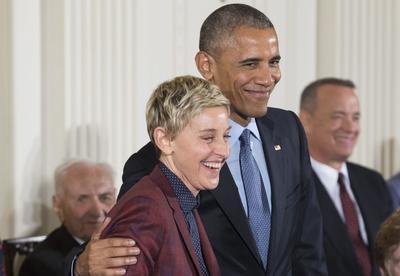 La comediante tiene una buena relación con el presidente.