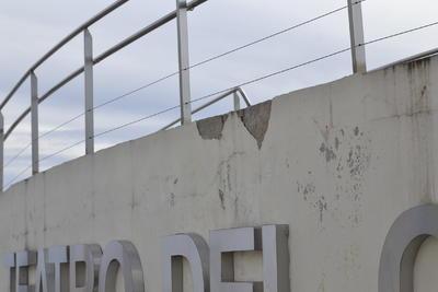 """La biblioteca central José Ignacio Gallegos Caballero se ha visto afectada por estar inconclusa, cuyo director Oscar Jiménez Luna, recordó que aunque se inauguró el proyecto todavía faltaban """"detalles""""."""