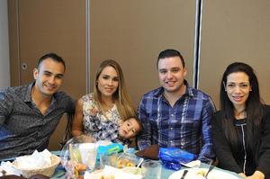 23112016 Gustavo, Mónica, Gustavo Jr., Mariano y Helena.