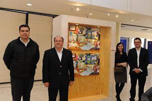 24112016 Fernando Negrete, Diana Fernández y María Miranda.