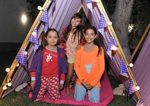 Mariam, Nicole y Sofía