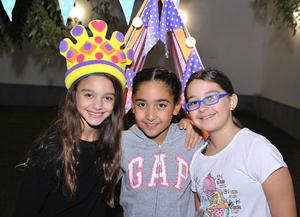 Monserrat, Paulina e Ivanna