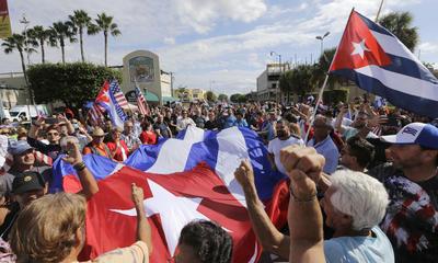 No todo es luto tras la muerte del líder cubano Fidel Castro.