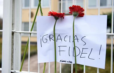 Fidel falleció a los noventa años.