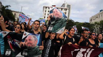Recordaron al líder de la revolución cubana.