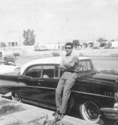 27112016 Heriberto Sandoval Muñoz, en 1960.