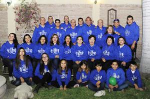 28112016 TERCERA REUNIóN ANUAL.  Integrantes de la Familia Pimentel, que vienen de Saltillo y Durango.