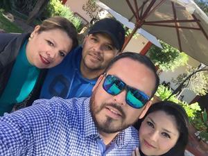 28112016 EN FAMILIA.  Blanca, Francisco, Miguel y Rosy Carrillo Reyes.