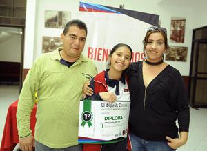 28112016 Miss Paty Ávalos, Graciela Padilla y Liliana Ovalle.