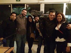 29112016 AMIGOS.  Carlos, Daniel, América, Wenceslao, Heriberto y Esmeralda.