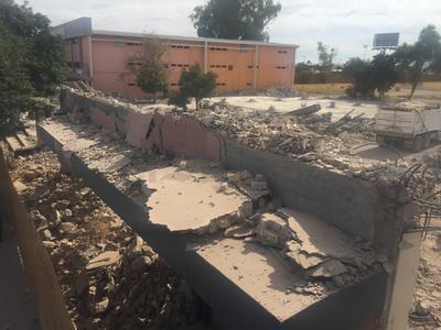 Las labores en general iniciaron desde el pasado mes de septiembre en la parte trasera del edificio, alcanzando ya el frente.