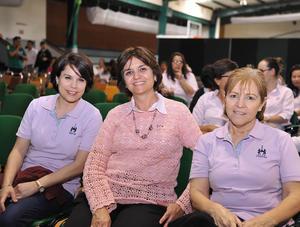 02122016 Rosy Lozano, Conchis Fernández y Rocío Castro.