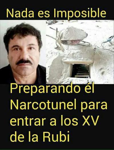 """Hasta """"El Chapo"""" estaría planeando asistir."""