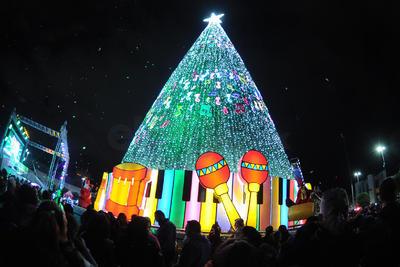 Con este evento se dio la bienvenida a la época navideña.
