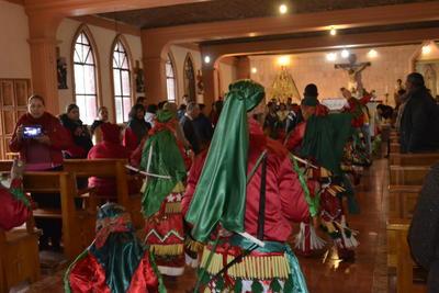 Cada uno de los grupos que participaron en esta celebración, demostraron su talento y muestras de fe.