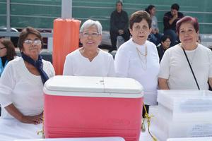 05122016 Martha, Gloria, Luz María y Rosa María.