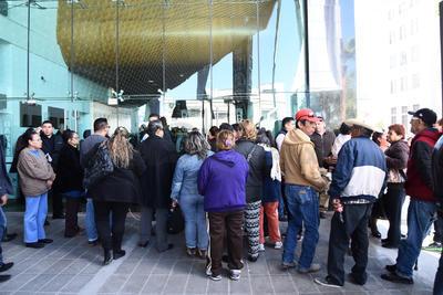 Hasta el recinto llegaron simpatizantes del alcalde de Torreón.