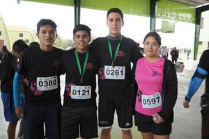 07122016 Sergio, Adrián, Zared y Lizeth.