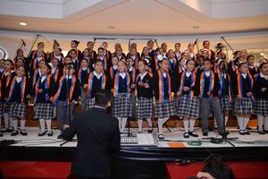 07122016 Los pequeños brindaron una gran actuación.