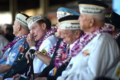 Sobrevivientes fueron parte vital de las ceremonias por el aniversario del ataque.