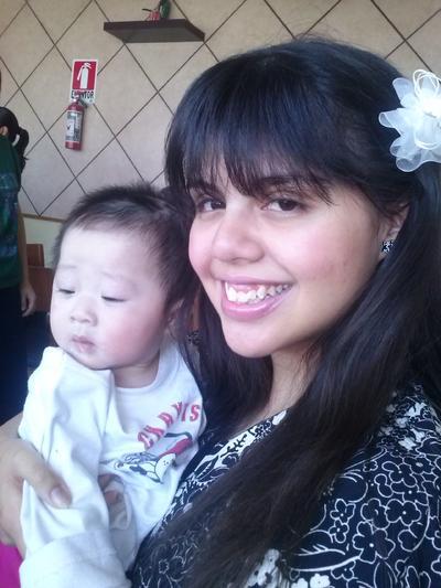 08122016 Ivanna y la pequeña Layla.