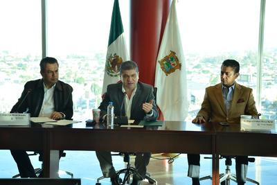 Mientras se espera la aprobación oficial y designe a quien será el alcalde interino, se queda como encargado del Despacho el primer regidor Miguel Mery Ayup