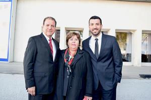 08122016 José Luis Villarreal, Leticia Castaña y Fernando Villarreal.