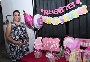 08122016 ESPERA LA LLEGADA DE REGINA.  Pilar Palacios Flores en su baby shower.