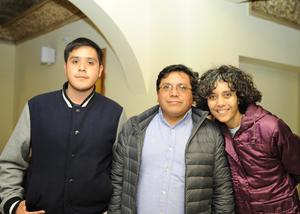 09122016 Arnoldo Rubio, Arnoldo Rubio y Mercedes Sicsik.