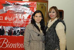 09122016 Ana María Valdés y  Lupita Ochoa.
