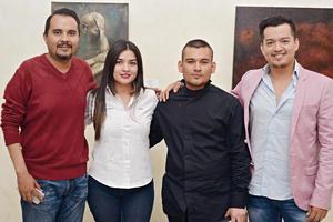 09122016 GRATOS MOMENTOS.  Roberto, Wendy, Érick y Orlando.