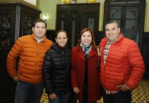 09122016 Miguel, Liliana, Carmen y Ricardo.