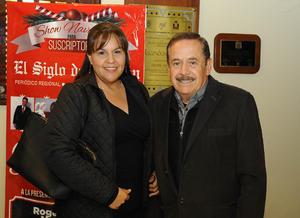 09122016 Alejandro Peña y Ana María Holguín.