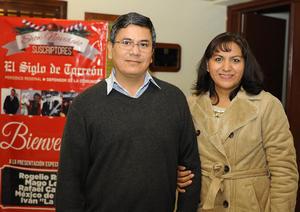 09122016 César Ríos y Yolanda  del Real.